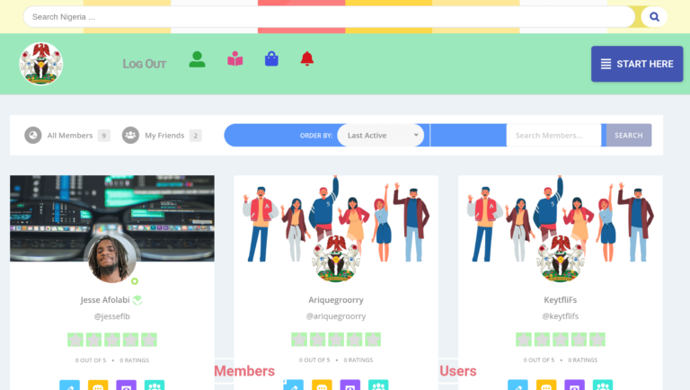 Search members Nigeria Online